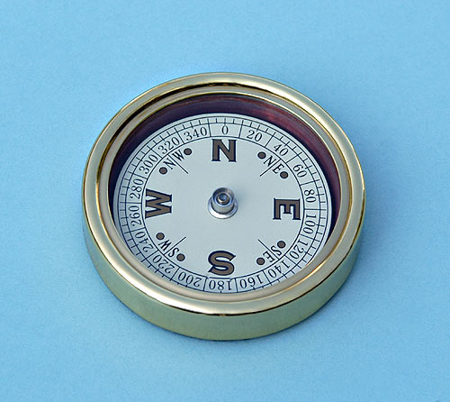 Stanley London Open Face Paperweight Compass