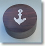 Round Anchor Inlaid Compass