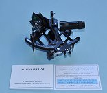 Stanley London Mark 3 Sextant with Certificate of Qualification