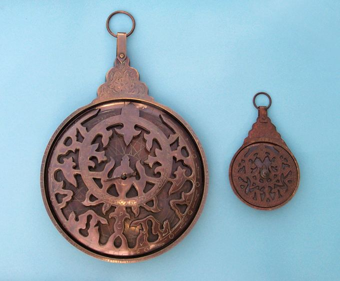Solid Brass Astrolabes