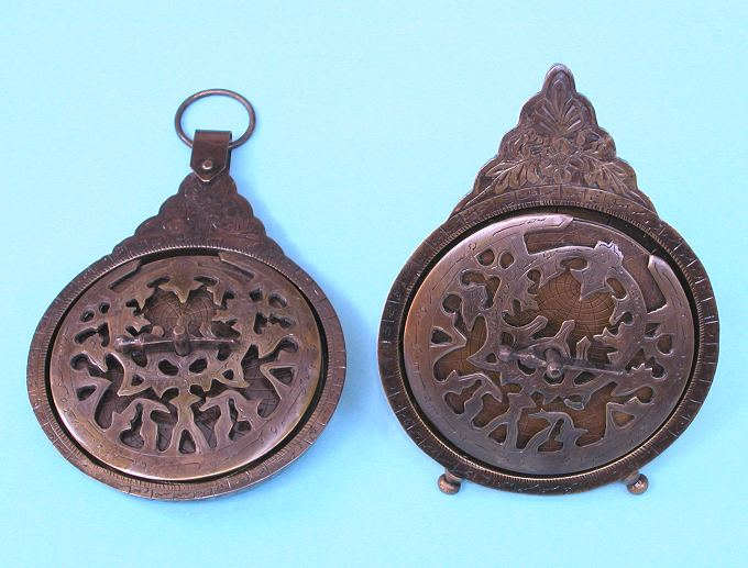 More Solid Brass Astrolabes