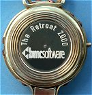 Example of Custom Engraved Lensatic Compass