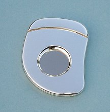 Small Silver Plated Cigar Cutter