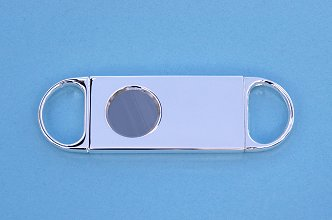 Two Finger Silver Plated Cigar Cutter