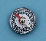 Top View Small Air Damped Plastic Compass