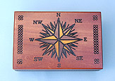 Compass Rose Cartography Box