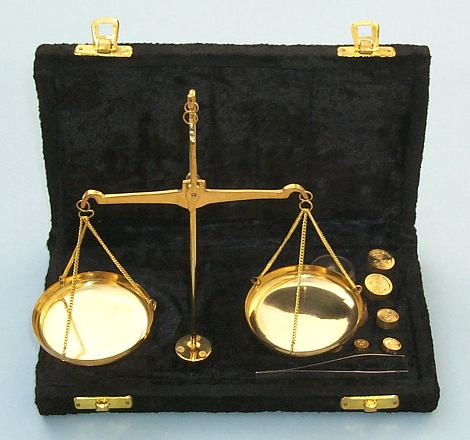 Balance Scale in Case